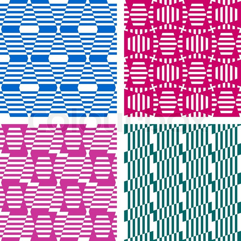 nahtlose geometrische muster legen sie die texturen vektorgrafik colourbox. Black Bedroom Furniture Sets. Home Design Ideas