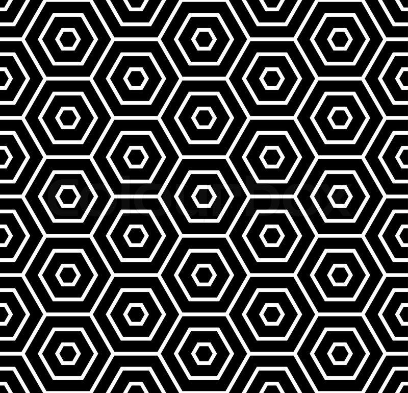 sechsecke textur seamlees geometrische muster vektorgrafik colourbox. Black Bedroom Furniture Sets. Home Design Ideas