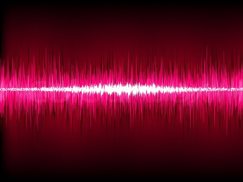 Pink Sound Waves | www.pixshark.com - Images Galleries ... Graphic Equalizer Vector