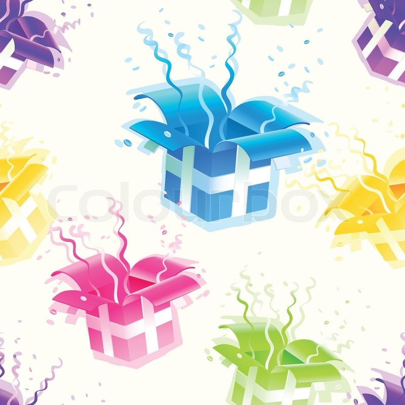 gift wrap seamless vector texture background eps10 pattern stock vector colourbox