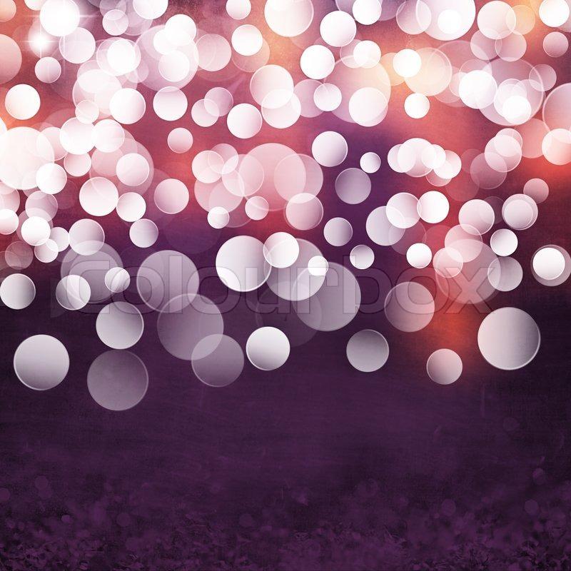 elegant grunge purple gold pink christmas light bokeh