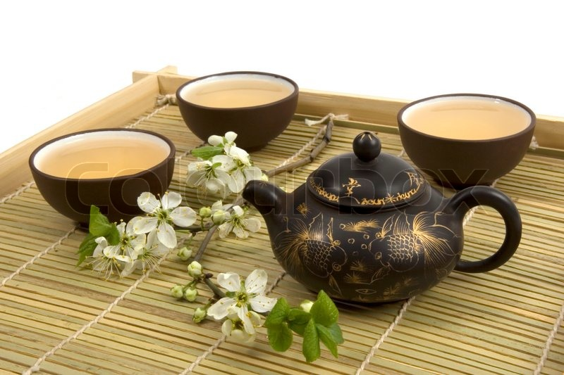 Chinese Tea Ceremony Stock Photo Colourbox