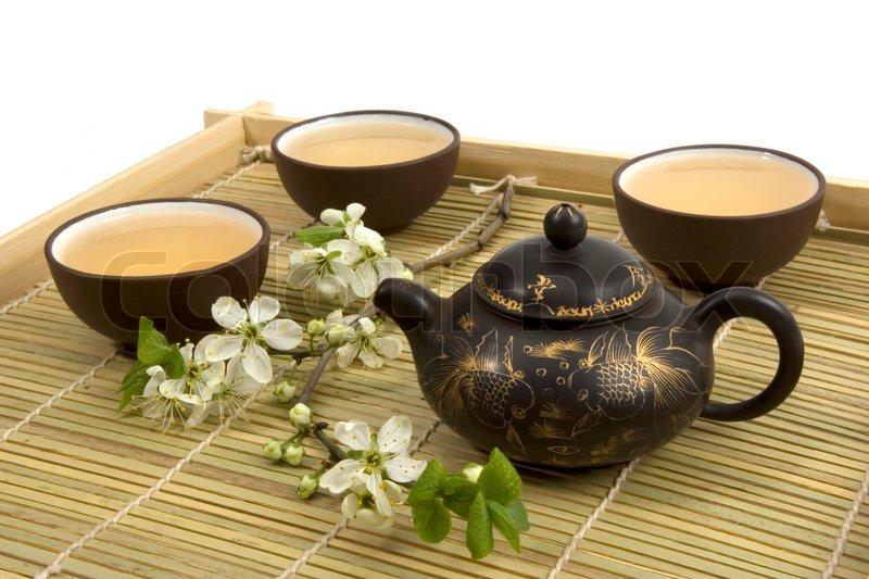 Chinese Tea Ceremony Stock Photo Colourbox