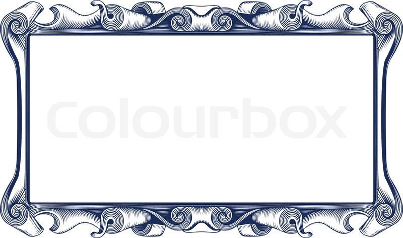Vintage Emblem Border