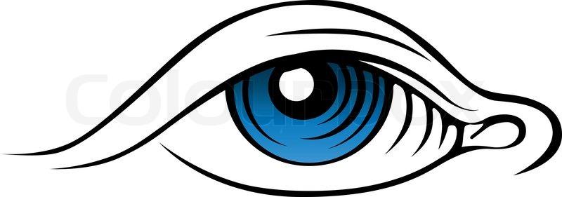 vector eye stock vector colourbox rh colourbox com vector eyelashes vector eye silhouette