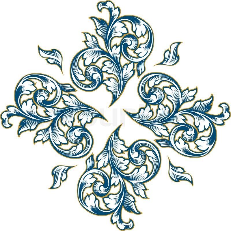 Floral Design Patterns Vector | www.pixshark.com - Images ...