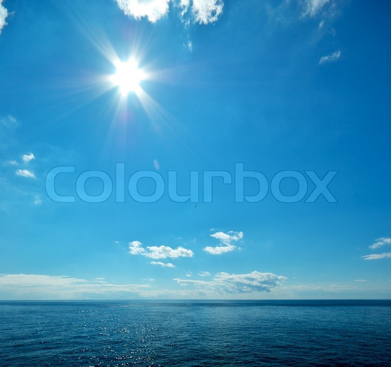 Stock image of 'Beautiful sea horizon'