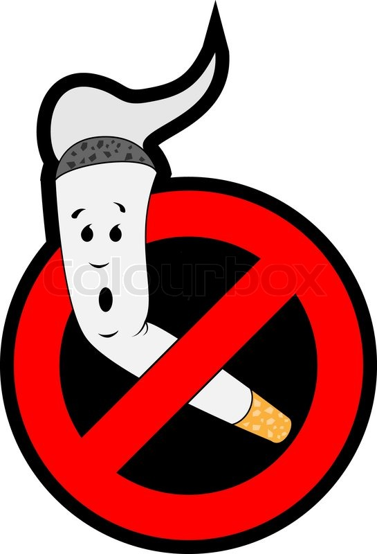 Stop smoking | Stock Vector | Colourbox