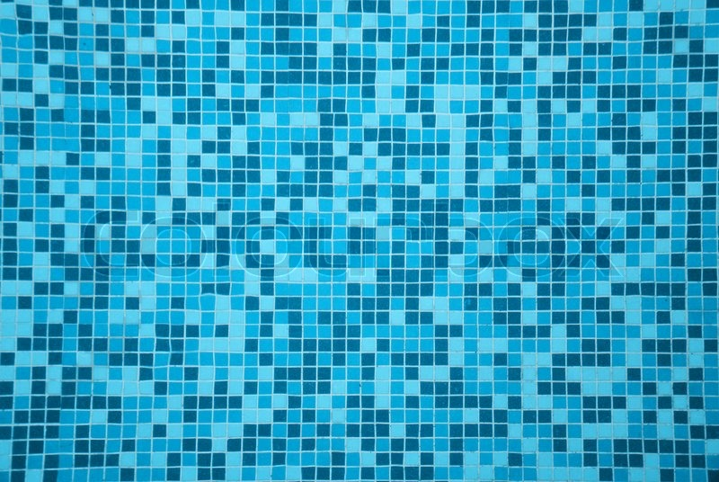 Swimming Pool Tiles Stock Photo Colourbox