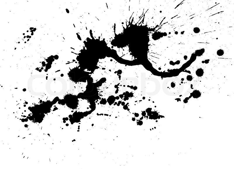 color paint splashes stock vector colourbox rh colourbox com paint splash vector free download paint splash vector brush photoshop