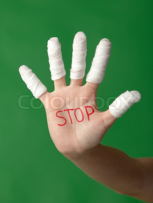 how to get a finger cut to stop bleeding