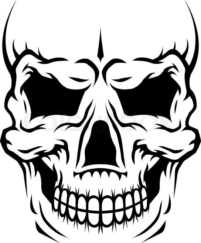 stickers tribal skull Schädel' von Stock 'Gefahr menschlicher Vektor