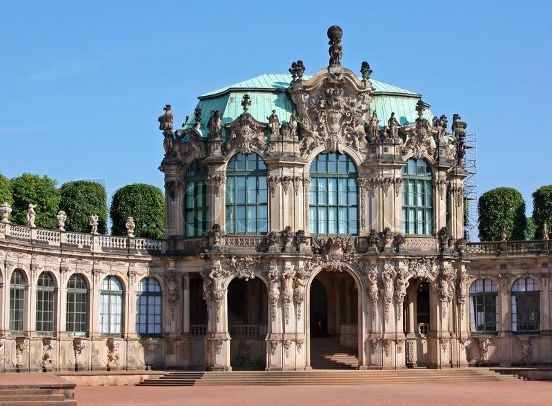 The Zwinger Is A Palace In Dresden Eastern Germany Built