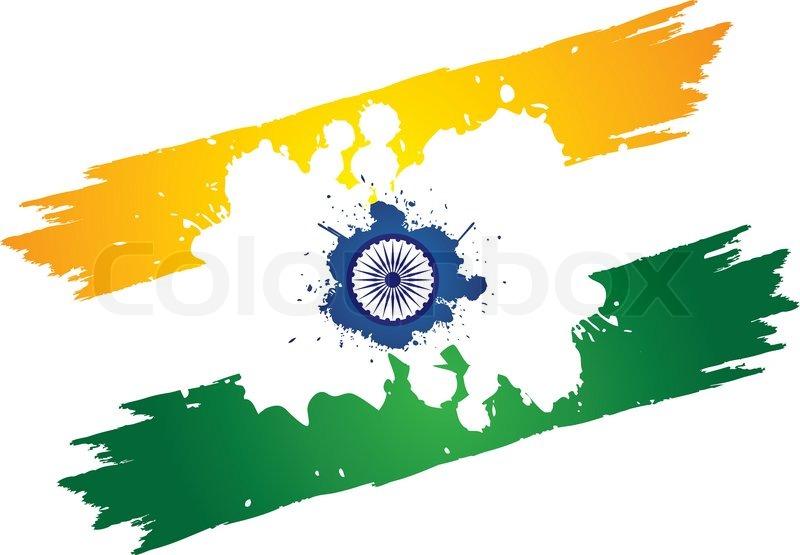 Indian National Flag Chakra Indian Tri-color National Flag