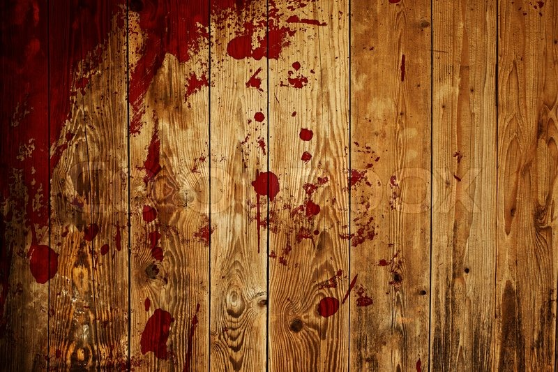 Red Paint Splash On Wood Plank Stock Image Colourbox