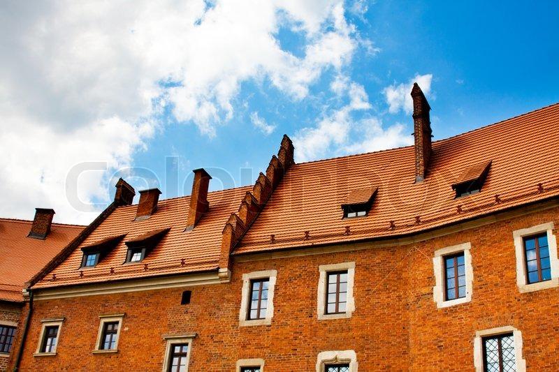 Rotes Haus Fn - Haus mit rotem Dach , Taschenrechner