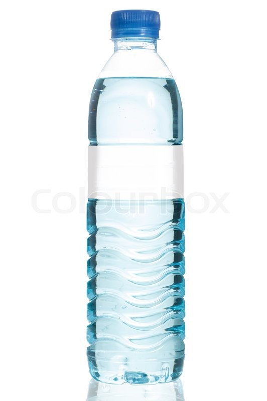 Mineral water bottle | Stock Photo | Colourbox