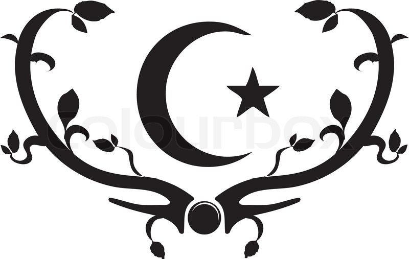 Symbol Of Islam Stock Vector Colourbox