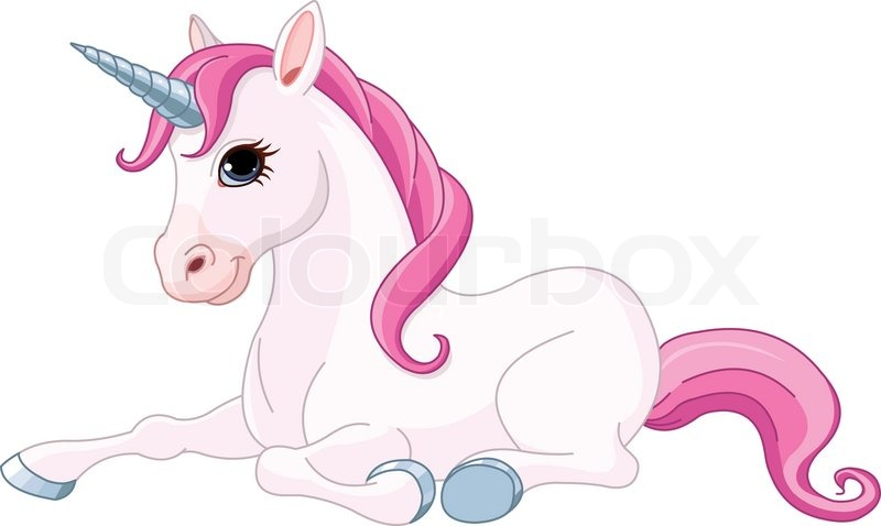 free cartoon unicorn clipart - photo #14