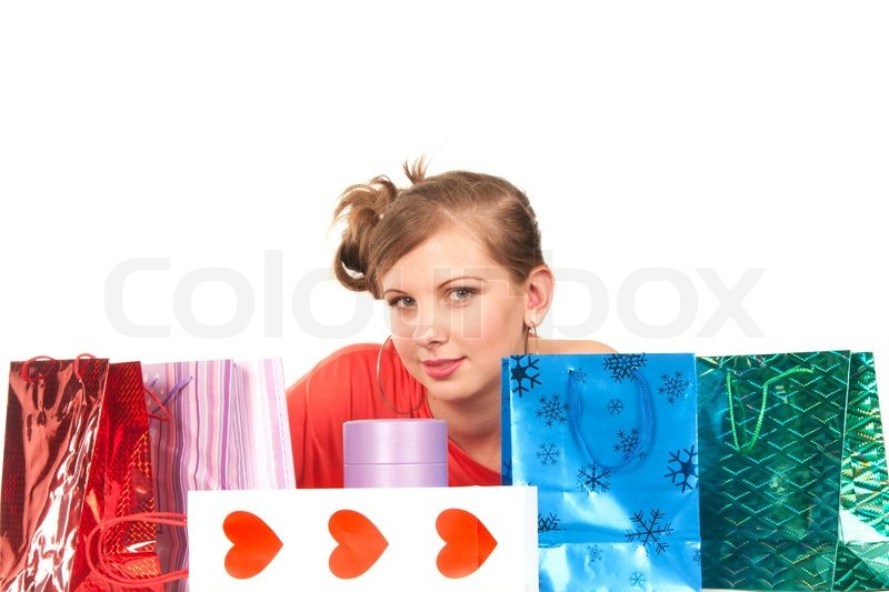 Stock image of 'Young woman'