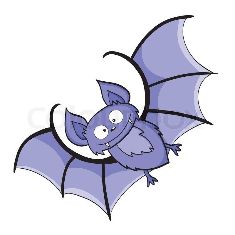 Cartoon Bat Vector Colourbox