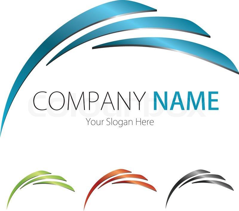 Company business logo design vector arc vector for The design company