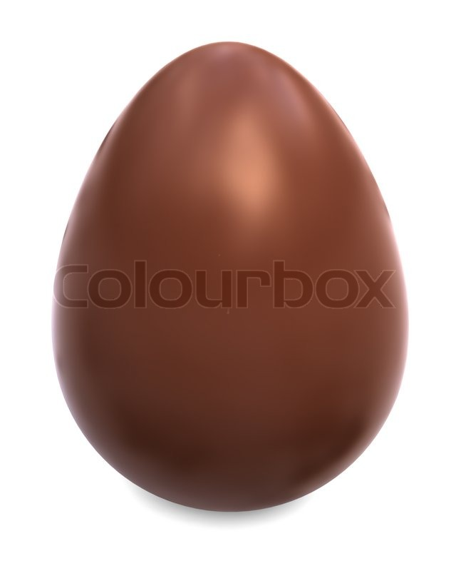 White Chocolate Candy Eggs