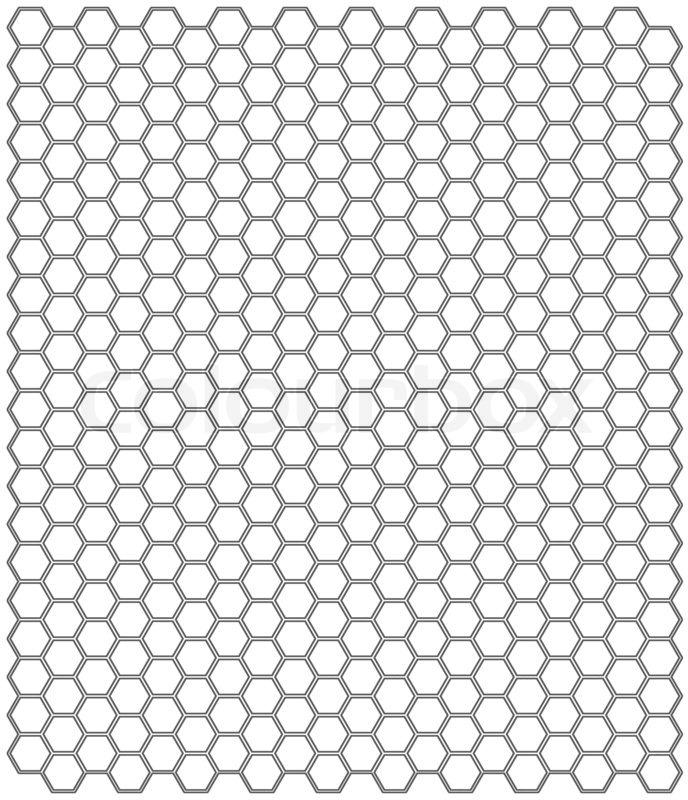 Abstract light pattern hexagon metallic background texture : Stock Photo : Colourbox