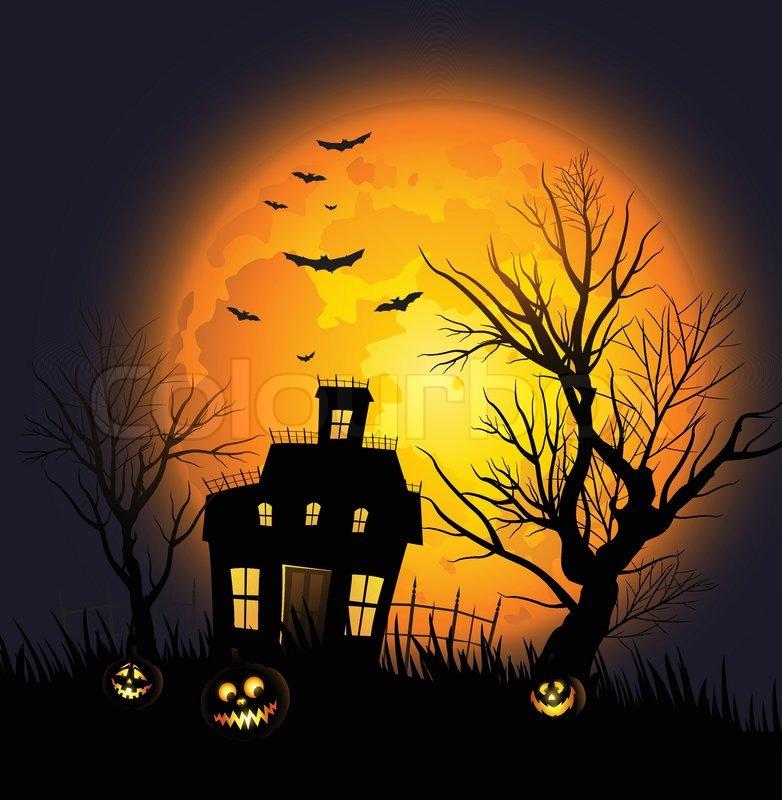 Halloween background | Stock Vector | Colourbox