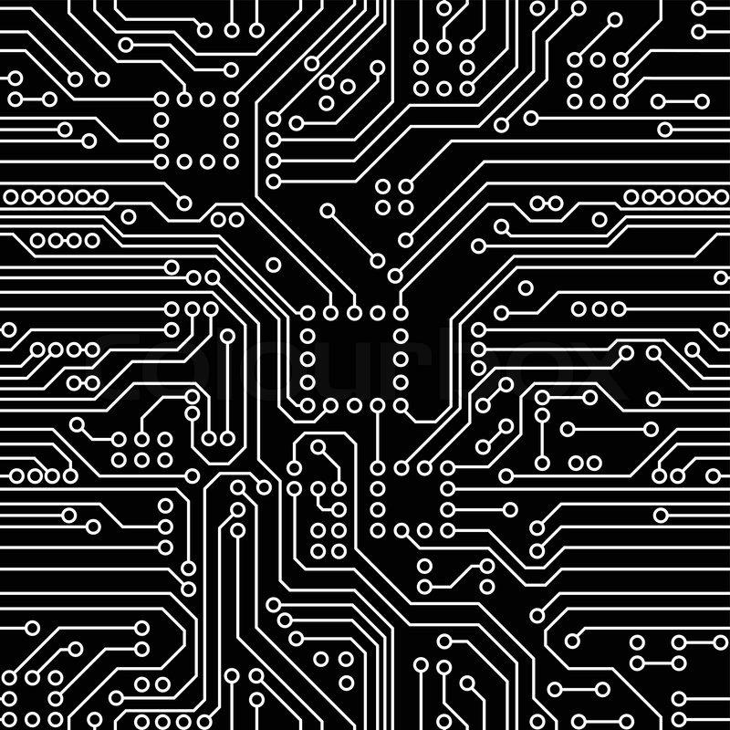 Circuit Board | Stock Vector | Colourbox