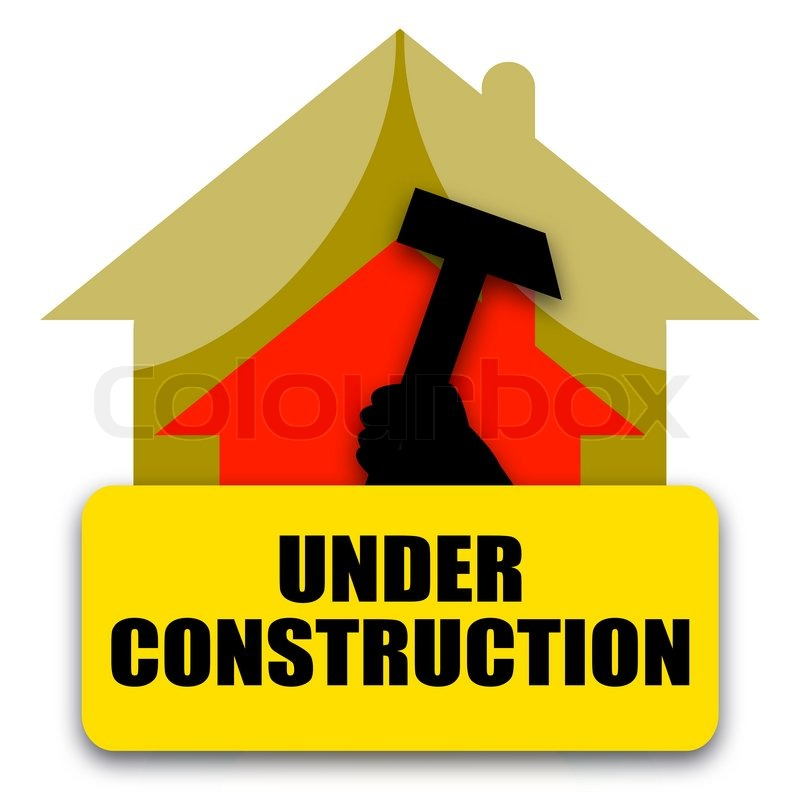 Home under construction stock photo colourbox for Mortgage for house under construction