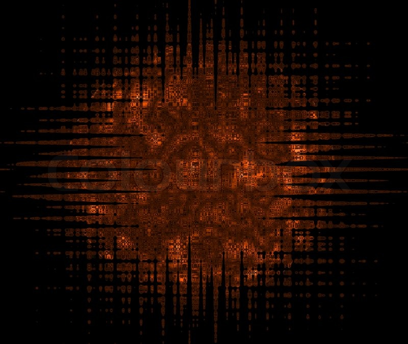Image Of Black And Brown Abstract Background
