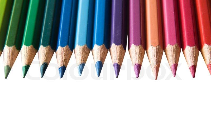 color pencil stock photo colourbox
