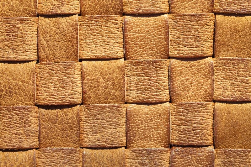 Brown Leather Woven Background Stock Photo Colourbox