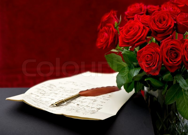 Stock%20image%20of%20Red%20roses%20with%20handwritten%20letter