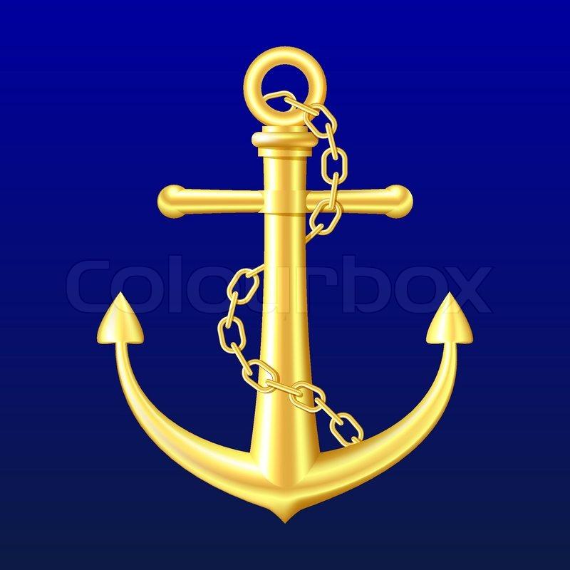 Navy Blue Ancho... Light Blue Anchor Wallpaper