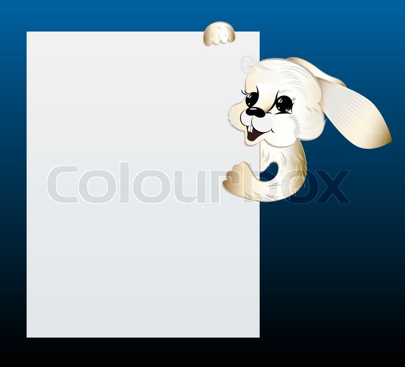Running Rabbit Vector Stock Vector of 39 White Rabbit