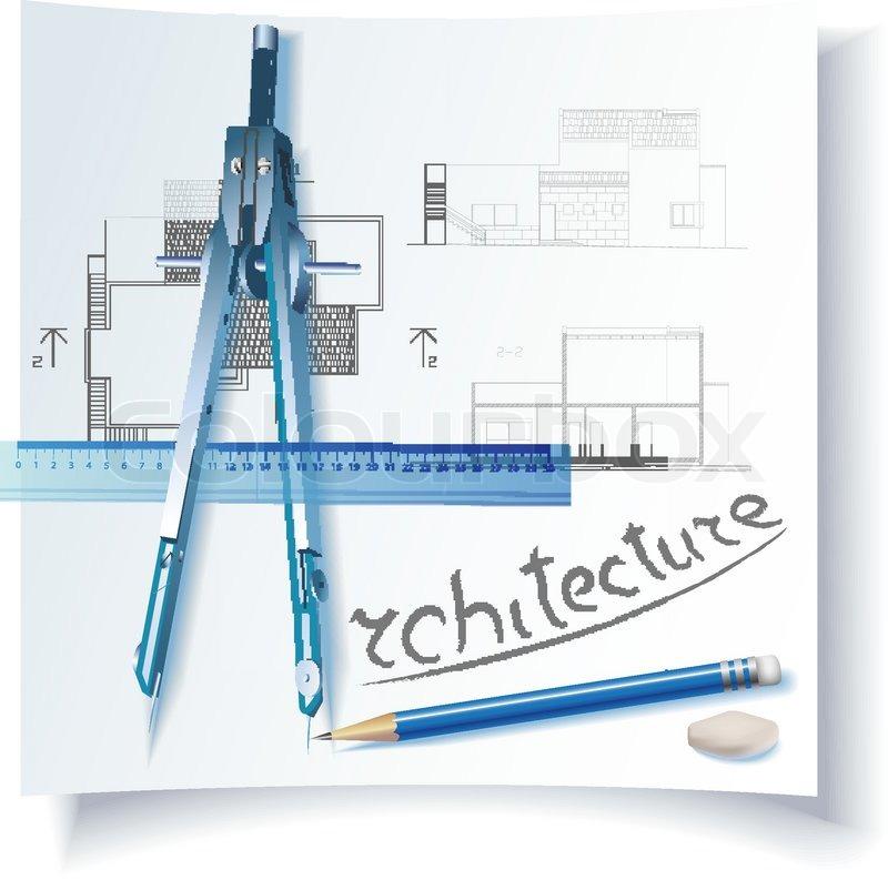 architectural symbol. vector background | stock vector | colourbox