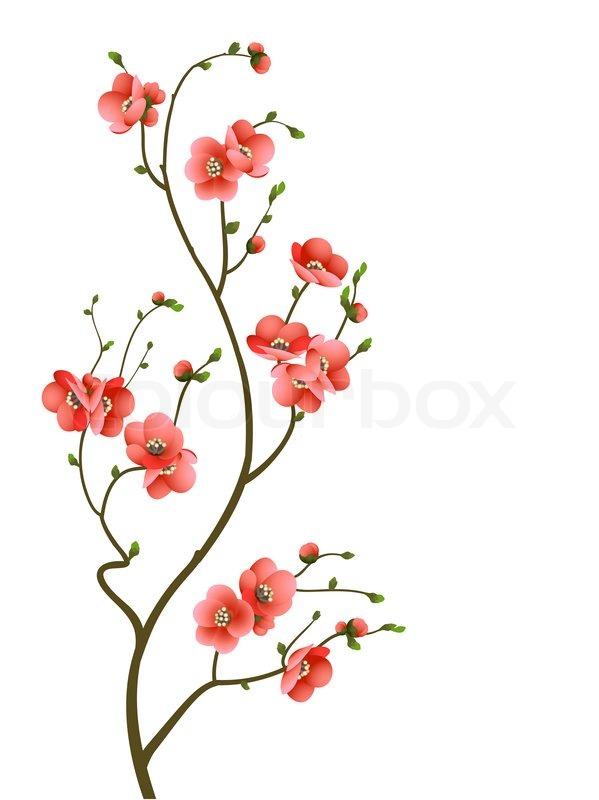 Branche Fleur Decoration