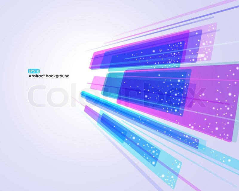 Abstract glowing EPS10 vector background for business card | Stock ...