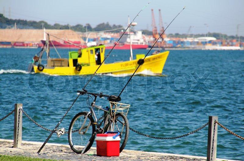 Portugal setubal river sado river sado fishing boat for River fishing pole