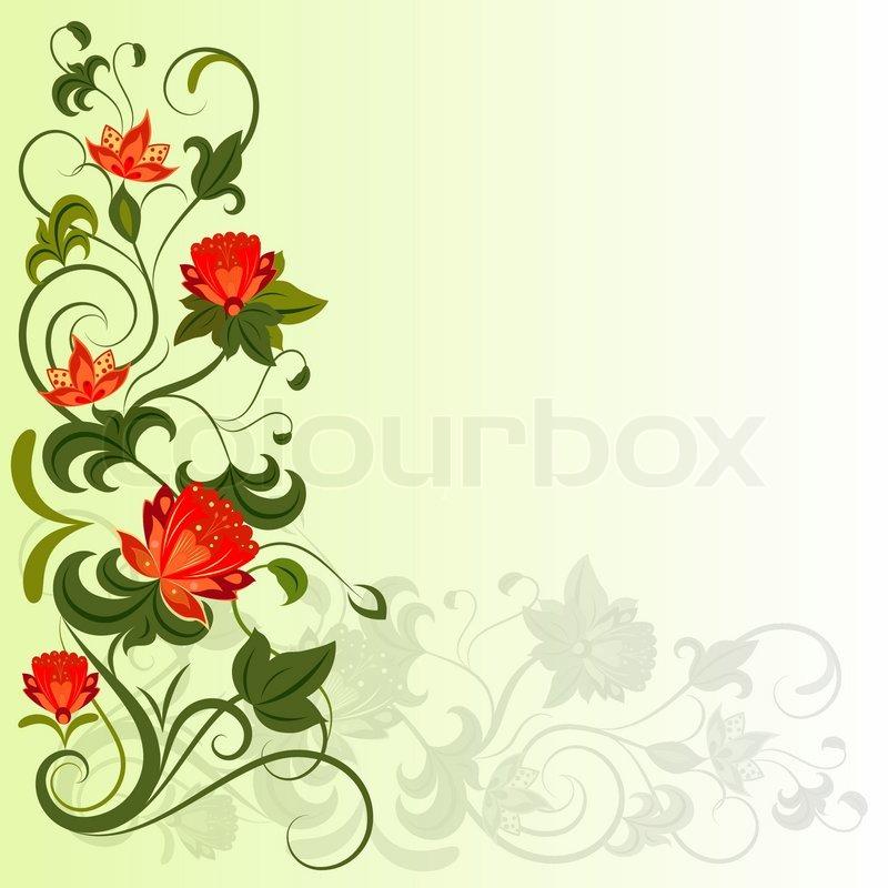 Vector Design Elements Floral Corner Vector Design