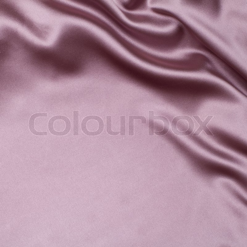 Pink Satin Or Silk Fabric Background Stock Photo