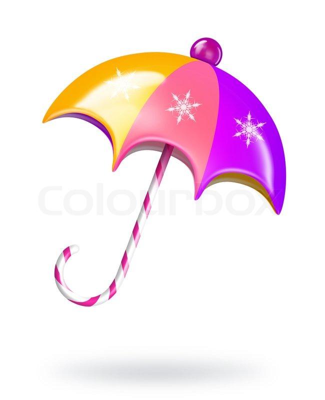 cartoon christmas umbrella stock photo colourbox candy cane clip art free candy cane clip art png