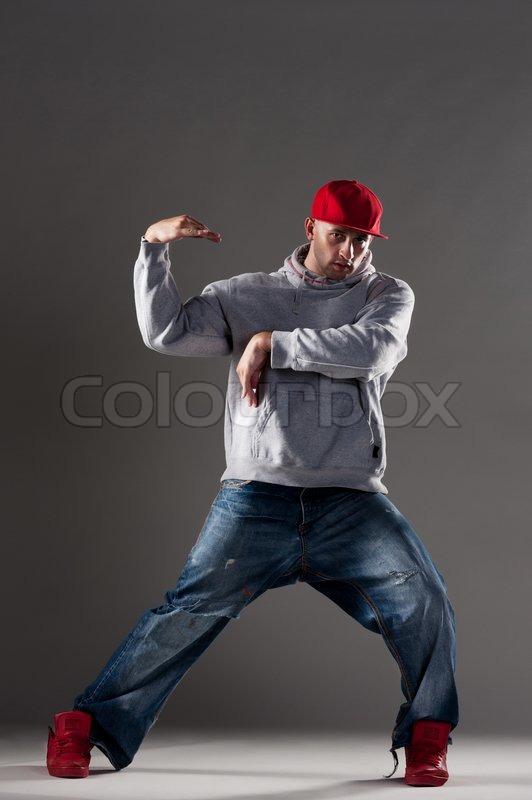 Cool Hip Hop Dance Poses Hip-hop man dancing,