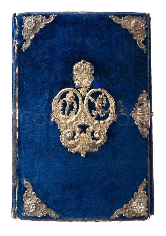 Book Cover Vintage Yoga ~ Vintage buchcover mit ornament stockfoto colourbox