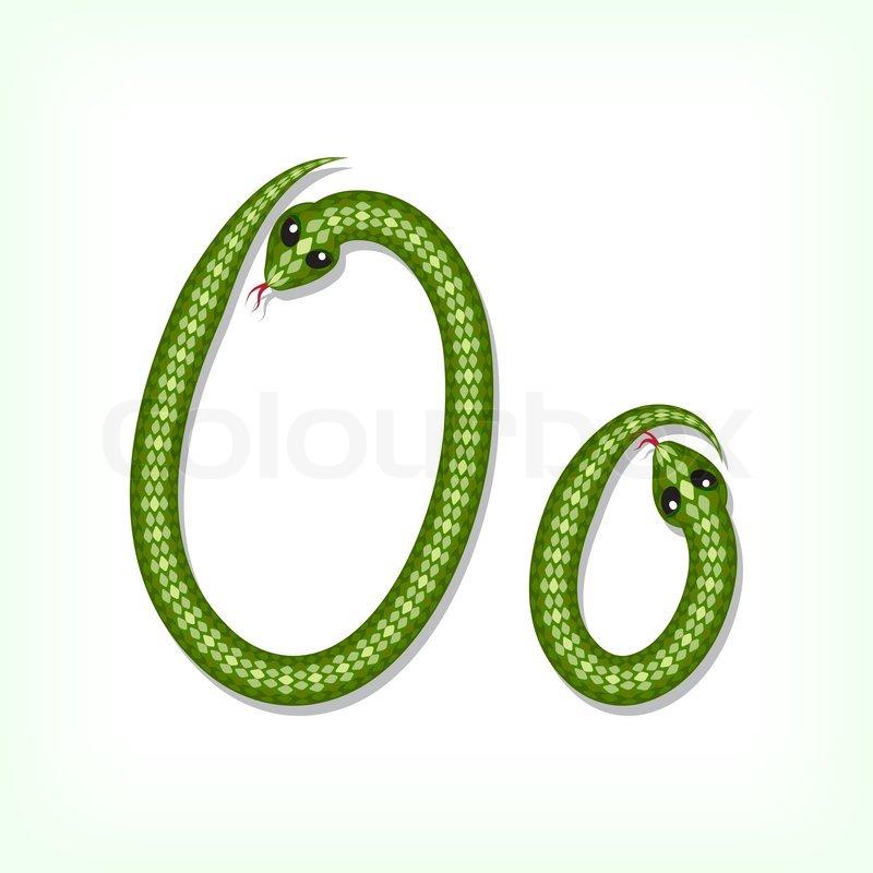 S Snake Font Snake font Lett...