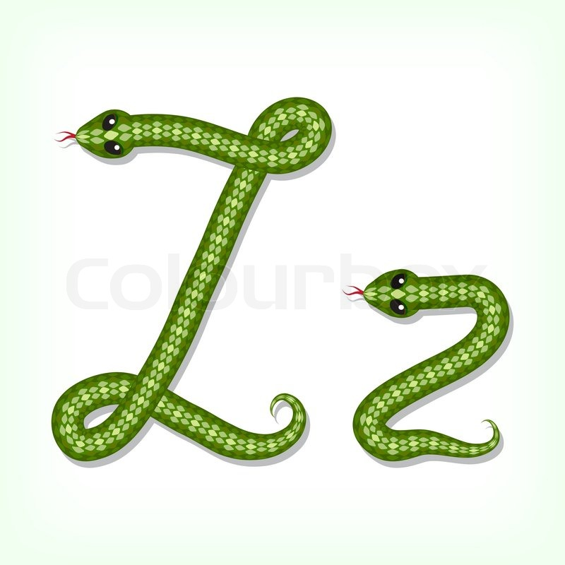 Letter Reptiles