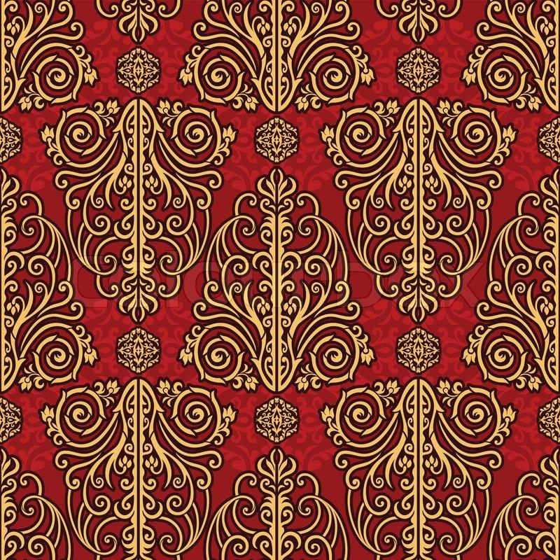 vector seamless renaissance wallpaper - photo #24