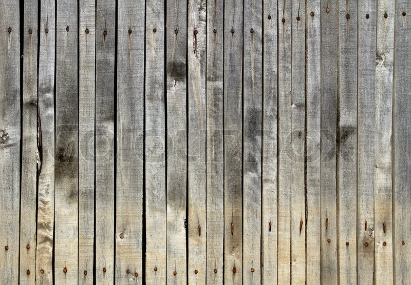 Close Up Of Gray Wooden Fence Panels Stock Photo Colourbox